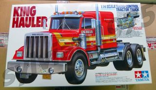Tamiya 56301 1 14 R C King Hauler Tractor Truck Kit New in Box