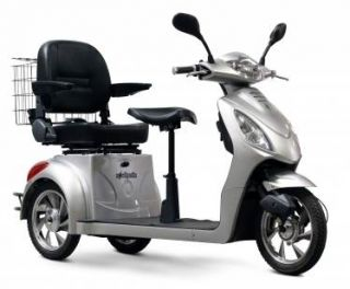 Wheels EW 66 2 Passenger High Power Fast 3 Wheel Mobility Scooter