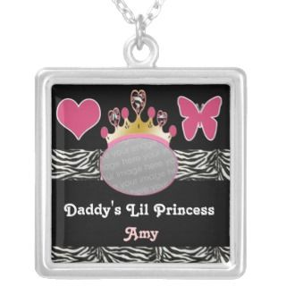 daddys little princess tiara pink photo custom jewelry