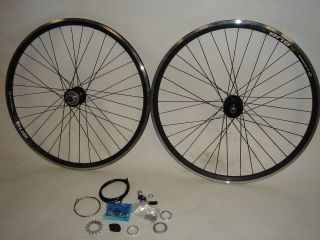 700c Sturmey Archer S3X 3 Speed Fixed Gear Wheelset