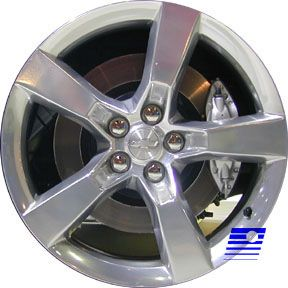 in Box Chevy Camaro 20x8 Factory Polished Alloy Front Wheel Rim