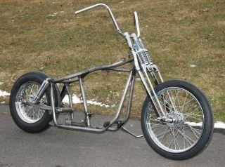 Chopper Bobber Harley Shovelhead Frame Rolling Chassis