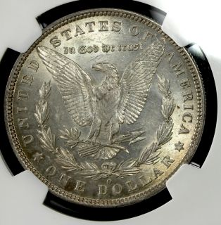 1881 O AU 58 $1 Morgan Silver Dollar NGC Graded Certified 64684