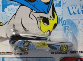 Hot Wheels DC Comics 2 Batgirl 59 Cadillac Funny Car 1 64 Scale
