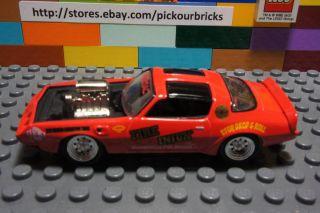 Johnny Lightning RED1980 Pontiac Firebird Trans Am Fire Injun Blown