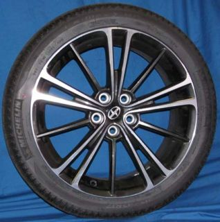 17 Scion FRS 2013 OE Wheels 4 Rims and 4 Tires Michelin Primacy 215