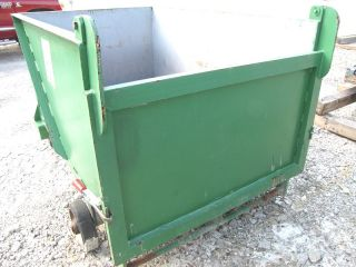 79 CU ft Used Steel Scrap Dumpster Box