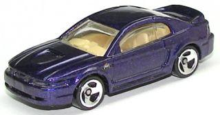 1999 Hot Wheels 909 99 Mustang Blue Tan Interior