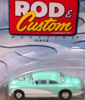 Ford Shoe Box Hot Rod Custom Magazine Hot Wheels 1 64 Sn3