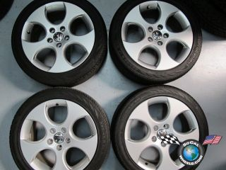 VW GTI Golf Jetta Factory 17 Wheels Tires Rims 5x112 69871