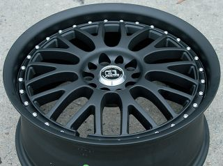 RVM G87 18 Black F Rims Wheels Chrysler 300 300C AWD