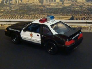 California Highway Patrol 87 Ford Mustang 1 64 Scale Edit 3 Detailed