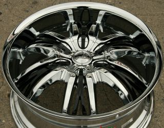 Cattivo 767 20 Chrome Rims Wheels Buick Regal 98 04 20 x 8 5 5H 35