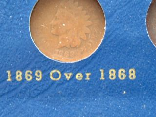 Near Complete Indian Head Cent Set w Flying Eagles