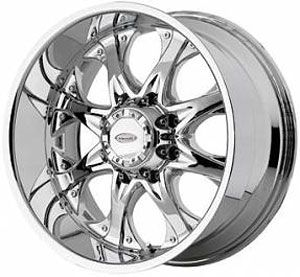 18 VENTI V92 Wheels 8 lug 8x165.1 (6.5) RIMS   CHROME (DODGE / CHEVY