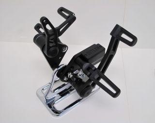 Outlaw Black Forward Controls 84 99 Softail Rigid FX FL Harley