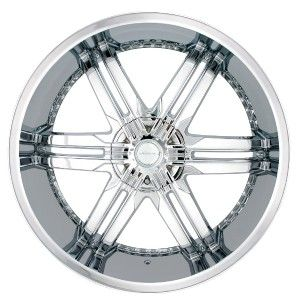 Veloche Victory Chrome Wheels Rims 5x135 F150 97 03 Expedition 97 03