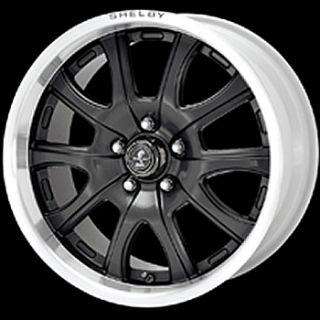 18x10 Black Wheels Rims Shelby Redline 5x4 5 Mustang