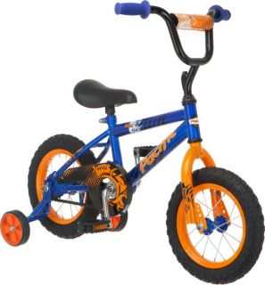 12 Boys Flex BMX Kids Bicycle Bike w Training Wheels 124034PB