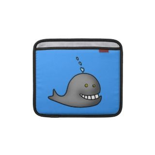 cartoon whale sleeves for iPads
