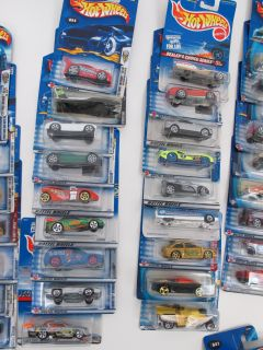 71 Unopened SEALED Late 90s 2000s Hot Wheels Diecast Toy Cars