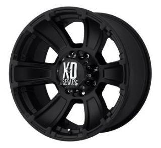 17x9 Black Wheels Rims XD796 6x5 5 Tacoma Chevy