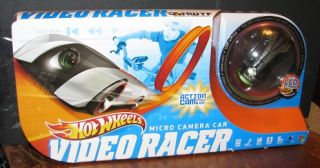 New Hot Wheels Micro Camera Car Video Racer Hotwheels Diecast Action