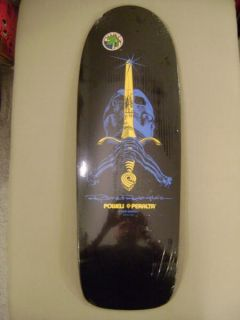 Powell Peralta Ray Bones Rodriguez Skull and Sword Skateboard Deck
