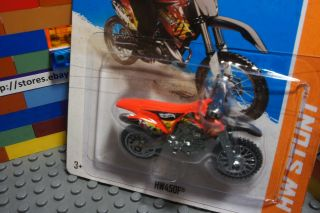 Hot Wheels HW450F Motorcycle motorbike Motocross Diecast Bike HW Stunt
