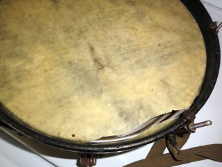 Vintage Antique 1920s Ludwig Snare Drum