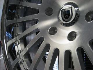 24 asanti AF122 Brush Lexus GX470 Wheels Pirelli Tires