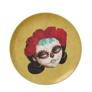 Beautiful Mexican Catarina Plate
