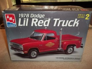 Dodge Lil Red Express Truck Pick Up Car 1 25 Model Kit CIB 106