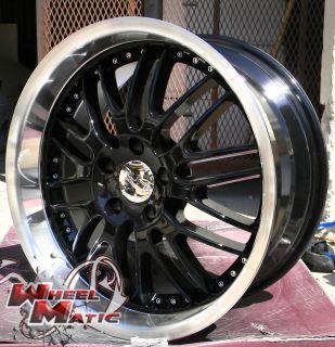 18 Ruff Racing 281 Wheels Rims Lexus GS LS Dodge Aveng