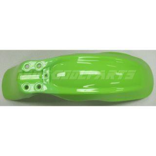 Green Kawasaki KLX DRZ 110 KLX 110 DRZ 110 KX 65 Plastic Body Kit Pit