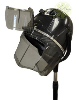 Hood Floor Hair Bonnet Dryer Rolling Base Stand Up Salon Wheels