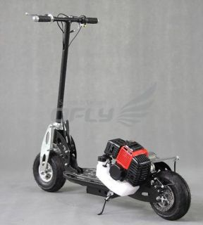 49cc Gas Scooter Petrol Scooter Folding Pull Start 2 Stroke Steel