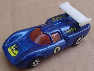 Muky Lola GT 70 2 Hot Wheels Redline Matrix Mold Argentina 1 64