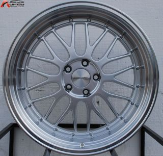19x9 5 19x11 Varrstoen ES112 LM Style Silver Wheel Fit BMW E46 E90 M3