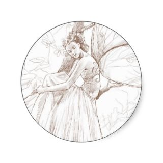 Woodland Fairy Sticker S
