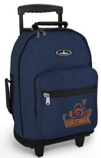 UVA Peace Frog Wheeled Backpacks with Wheels Best Rolling Carryon