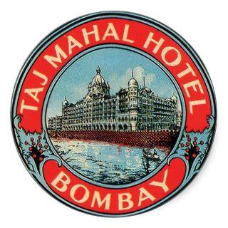 Taj Mahal Hotel, Bombay Sticker