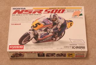 Kyosho 1 8 RC Bike Motorcycle Honda NSR 500