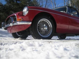 15x6 Performance Dayton Wire Wheels MG MGB MGC