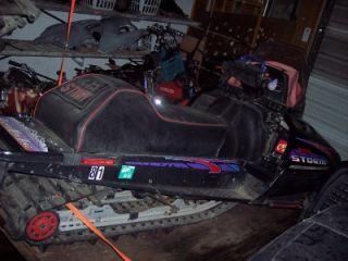 96 97 Polaris Indy Storm 800 RMK XCR 600 Nose Belly Pan