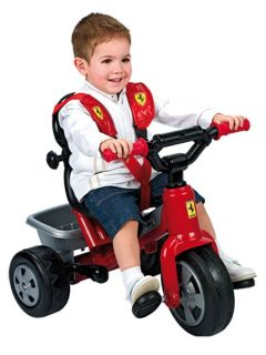 Ferrari Trike with Parent Handle New Boxed Official