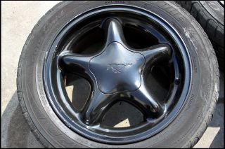 Mustang 5 Star Pony Wheels Tires 16 x 7 5 94 95 96 97 98 99 00 01 02