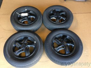 95 99 Mitsubishi Eclipse Wheels Rims with Tires Stock Factory 14 RS