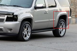 07 12 Chevy Avalanche Driver Side Fender Extension Truck SUV Body