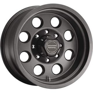 Teflon American Racing ATX Mojave Wheels 6x5.5  24 Lifted HUMMER H3